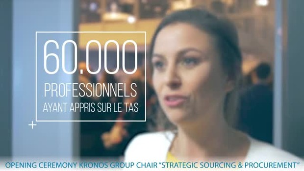 "Kronos Group Chair in ""Strategic Sourcing and Procurement"" 26/04/18"