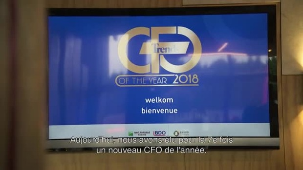 Trends CFO of the Year 2018 - 19/05/18